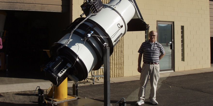 A telescope for detecting and combating asteroids