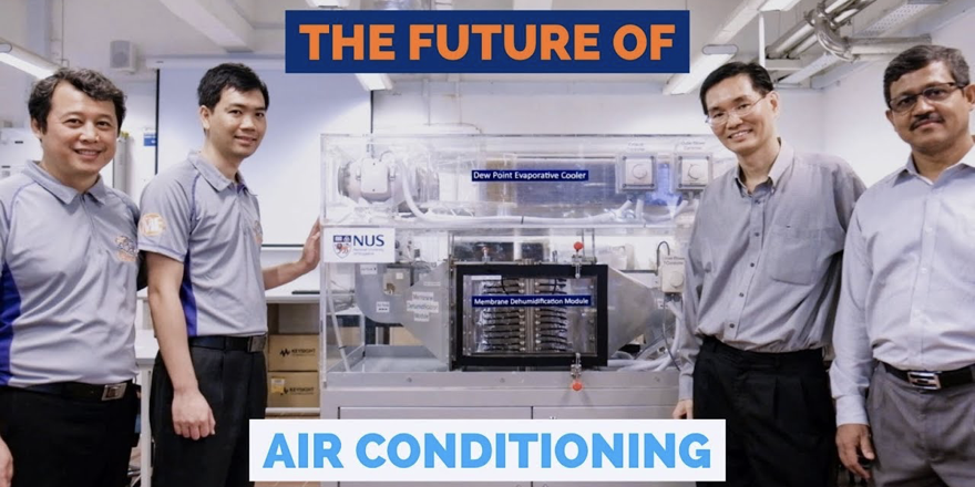 sustainable air conditioners research team