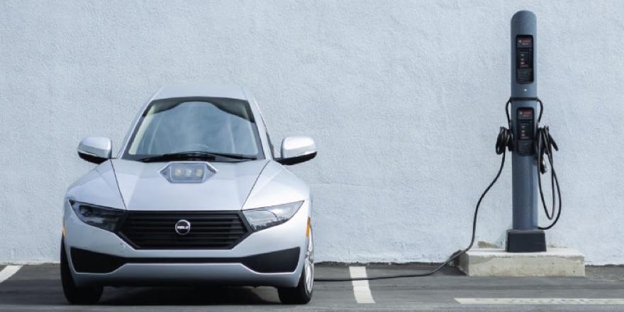 electric car 3 wheeled electromeccanic Solo