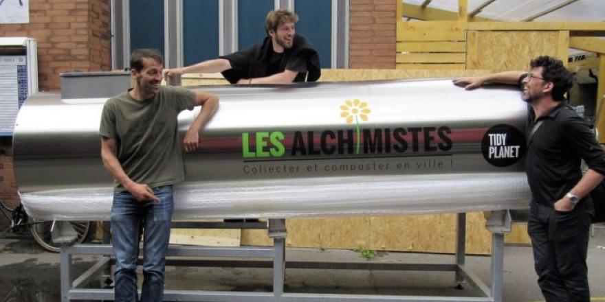 rocket composter for Les Alchimistes