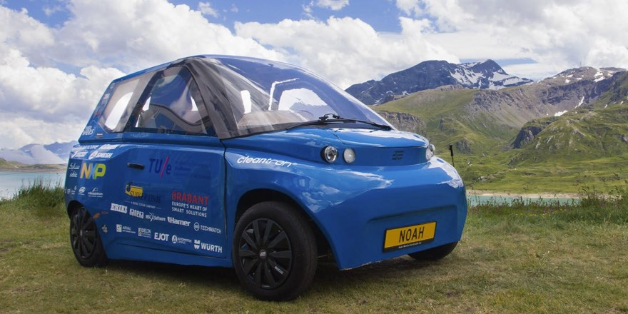 Noah car made of recycled materials