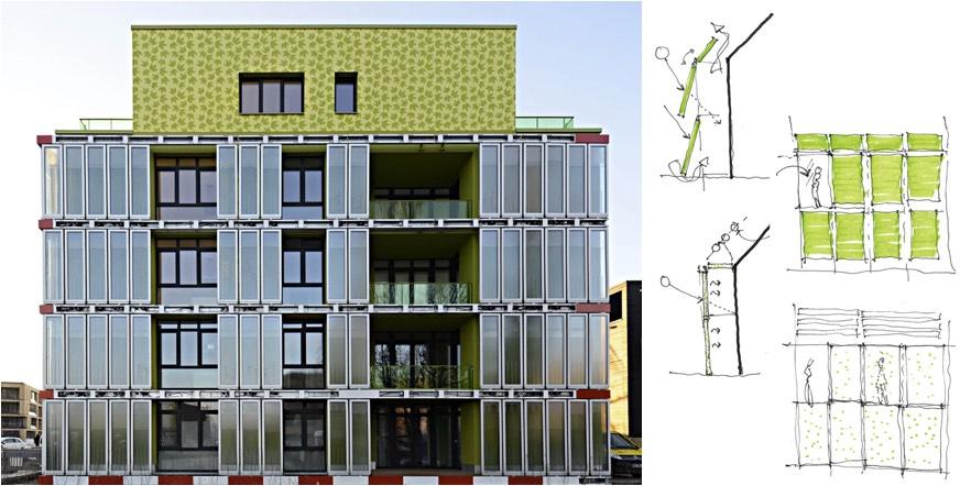 Arup Solar Leaf building