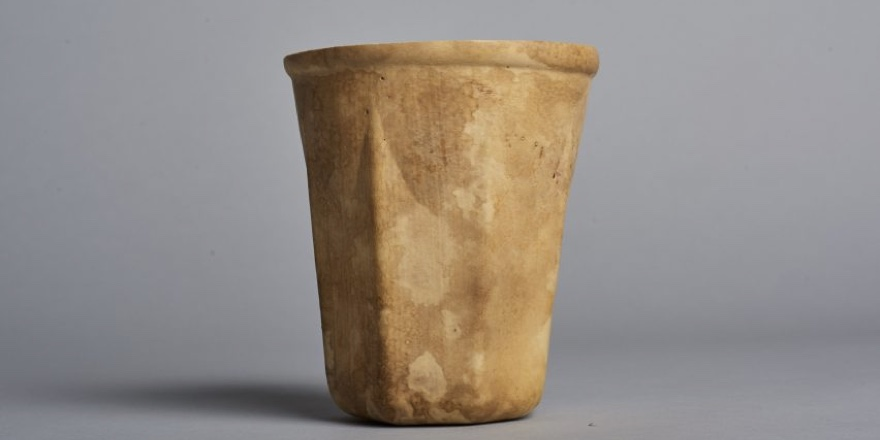 cup made from a gourd