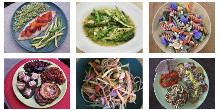 various foods in the eat-lancet diet