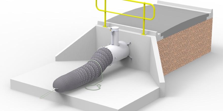 drainage sock