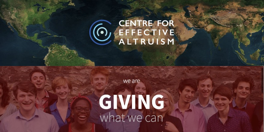 altruism and giving what we can