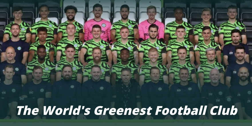 forest green rovers - eco-friendly football club