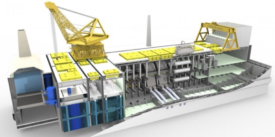 molten salt reactor ship