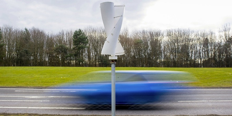 roadside wind turbine