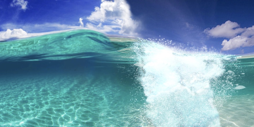 wave with air underneath