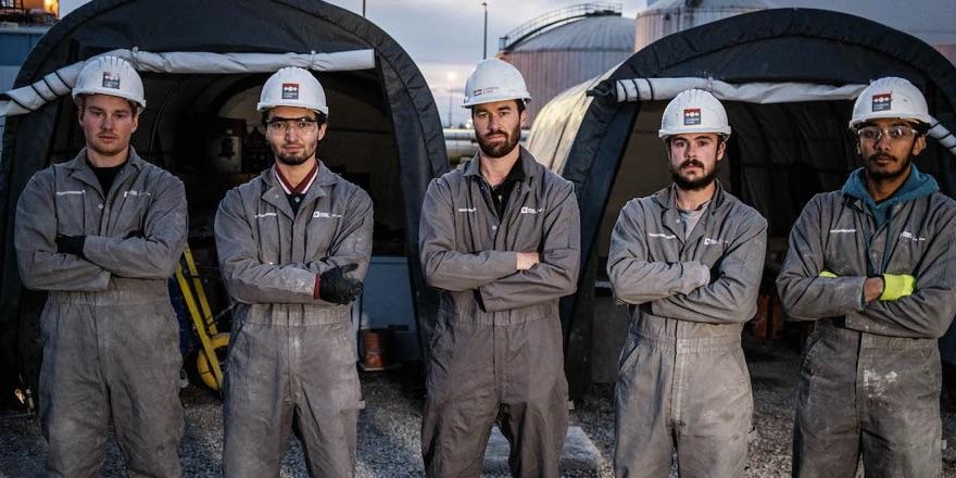 Carbon capture teams